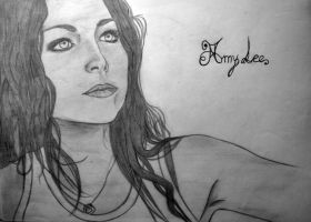 Amy Lee by WishOfBlood