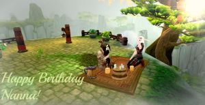 The Picnic (Happy birthday Nanna! :D) by Meilandt