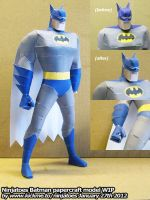 papercraft Batman testbuild 2 by ninjatoespapercraft