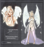 LS: Virtue Angel of Humility - Eliora by shikadeidara
