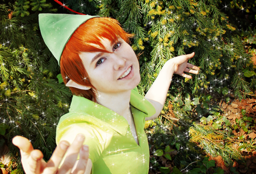 All you need is faith, trust and uh... pixie dust? by NelaineIvory