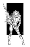 Silver Sable by Saariaho