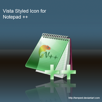 Vista Style Icon for Notepad++ by ChadJackson