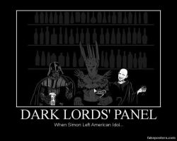 Dark Lords' Panel by katarnlunney