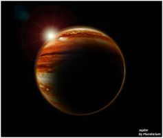 Jupiter by Planetarium