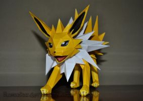 Paperpokes: Jolteon by Roscofox
