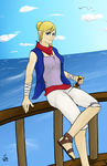 Tetra - The Legend of Zelda Wind Waker by CnB-Kevin