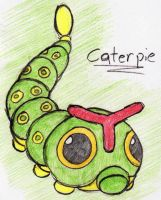 10 - Caterpie by JacobMace