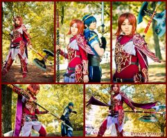 Fire Emblem: Princess Minerva by CHR0NIE