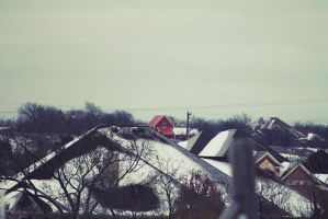 Winter and Homes by CherishKay