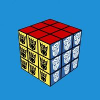 Rubiks's cube 2 by WitchBehindTheBush