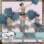 Exclusive Bellini the Performer Poser Tubes by DesignsByNorella