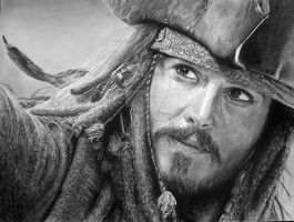 Captain Jack Sparrow by BeastMaster-Serbia