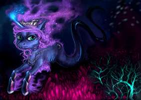 Deep Sea Princess Luna by ElkaArt