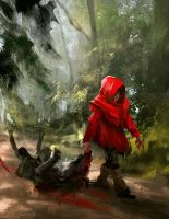 Little Red Hood (Hunter) by daRoz