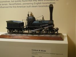 'Gowan and Marx' 4-4-0 Scale Model by rlkitterman