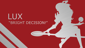 Lux Quote Silhouette - Red - Metal - 1920x1080 by urban287