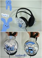 Doodle Headphone by LucasSandes