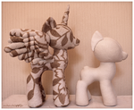 MLP - Pony Plushie Pattern Prototype by mamaapple