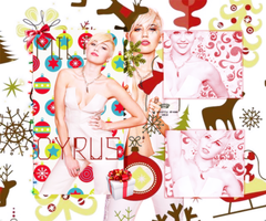 Miley Cyrus Christmas Theme by KseniaFuller