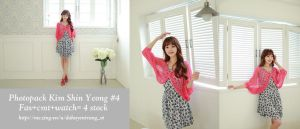 Photopack Kim Shin Yeong #4 by trang2232001