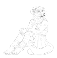 WIP Commission Camesha by Maquenda