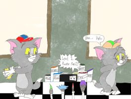 Tom n Jerry Kids Request 0007 by ThrillingRaccoon