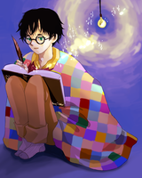 Harry Potter and his Diary by treecat12
