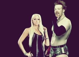 Sheamus and Maryse Graphic by verusImmortalis