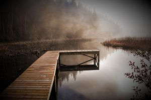 Dock in a Cloud by Joe-Lynn-Design