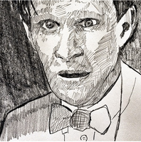 The Eleventh Doctor by filmshirley