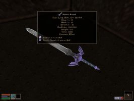 Master Sword Mod for Morrowind by Chief-01