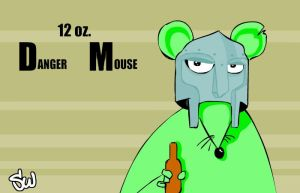 12 oz. Danger Mouse by Space-Walk