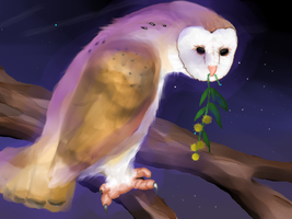 Tyto and Acacia redraw by ArcaFelidae
