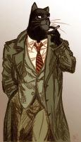 Blacksad by sLy2k