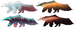 Anteater galaxy adopts / CLOSED by red-anteater