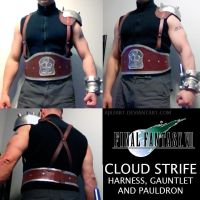 Cloud Strife Harness WIP by ajb3art
