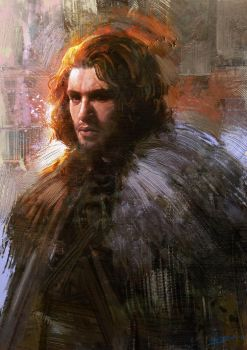 Jon Snow by Rmusiclife