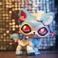 Shiny Sylveon LPS custom v.2 by pia-chu