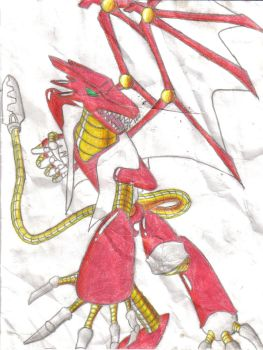 Red Weapon -color- by Solarice04