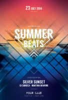 Summer Beats Flyer by styleWish