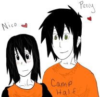 Percy and Nico characters by FMA-Al-Lover