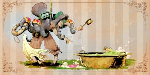 bathtime for otto by BrianKesinger