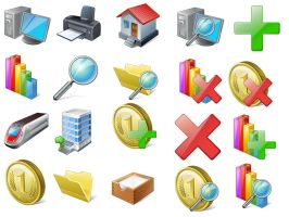 Vista Stock Icons by FreeIconsFinder