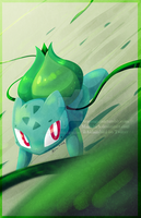 AT - Bulbasaur by MagicBirb