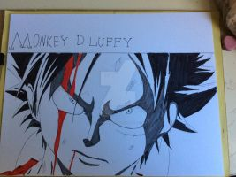 Monkey D. Luffy Now I'm Mad for Meow by Personaminato