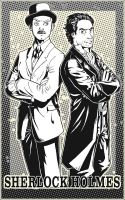 Holmes and Watson by P-JoArt