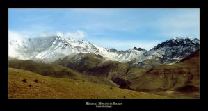 Khumut Mountain Range by deviantik