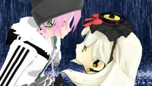 [MMD] Mayu x VY2 Magnet by sky-the-last-omega