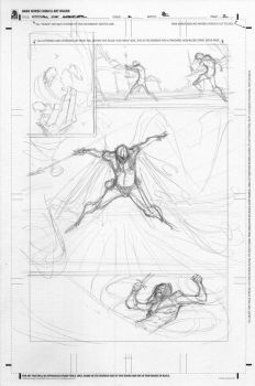 conan the avenger #2 pencils by BChing